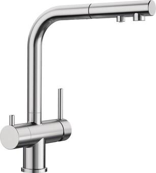 Кухонный смеситель Blanco Fontas-S II UltraResist (нержавеющая сталь)
