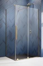 Душевой уголок (раздвижные двери) Radaway Furo Gold KDJ 160х120