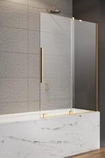 Шторка на ванну (раздвижные двери) Radawey Furo Gold PND II 180