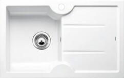 Кухонная мойка Blanco Idessa 45 S (глянцевый белый, левая)