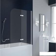 Шторка для ванны New Trendy FUN 100 хром (P-0017)