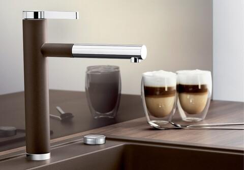 Кухонный смеситель Blanco Linee-S (кофе)