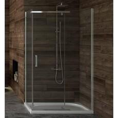 Душевой уголок (распашная дверь) прямоугольный New Trendy NEW KOMFORT 100x80