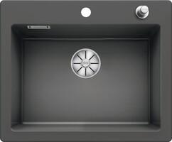 Кухонная мойка Blanco Palona 6 (базальт, с отводной арматурой InFino®)