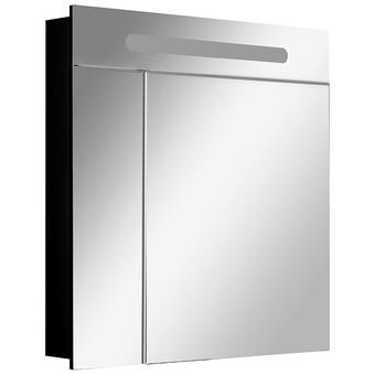 Зеркальный шкафчик Roca Victoria Nord ZRU9000100 80x81 Black Edition