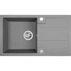 Мойка кухонная Laveo Barbados SBB_511T (76х44) (серый)