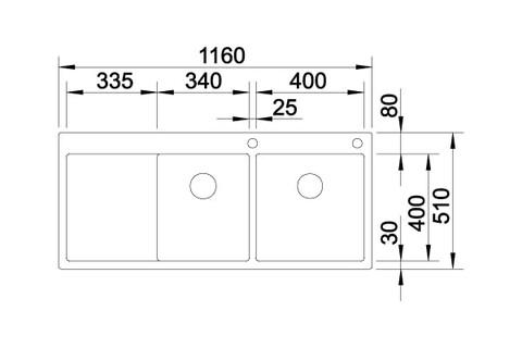 Кухонная мойка Blanco Claron 8 S-IF/А (левая, зеркальная полировка, с клапаном-автоматом)