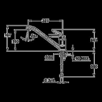 Кухонный смеситель Teka ML (топаз) 81913620T