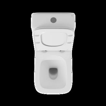 OWLT190402 Унитаз-компакт напольный безободковый OWL Vatter Ruta-G с сиденьем DP микролифт