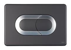 Панель пневматическая Oli Salina черный мат./хром 640097