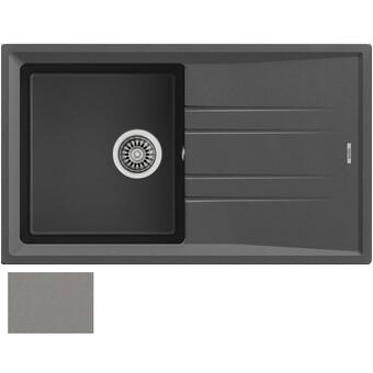 Кухонная мойка Teka Stone 50 B-TG (серый металлик, ручной слив)