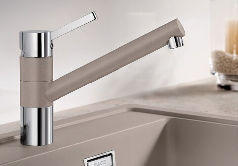 Кухонный смеситель Blanco Tivo (серый беж)