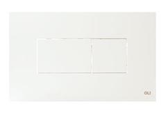 Панель пневматическая Oli Karisma белая 641001